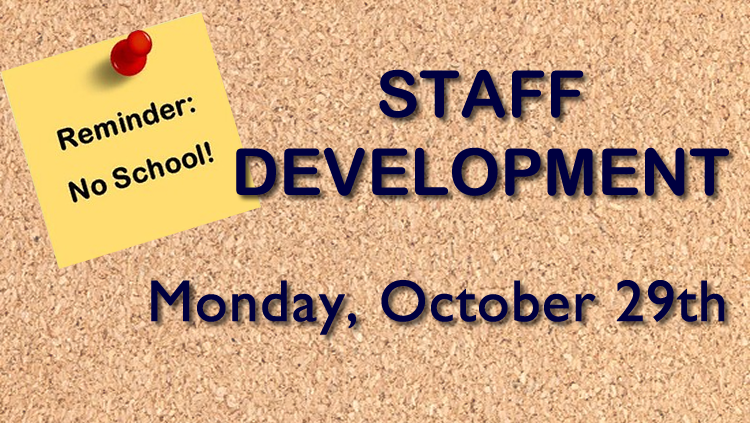 Staff Development No School