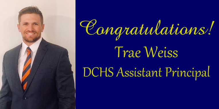Trae Weiss DCHS Assistant Principal