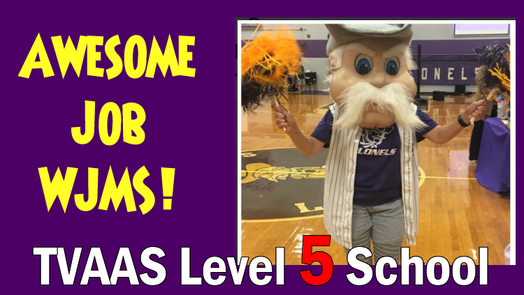 WJMS TVAAS Level 5 School