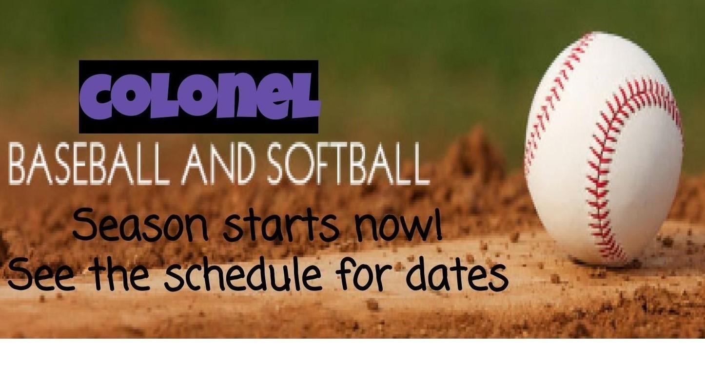 Baseball / Softball season