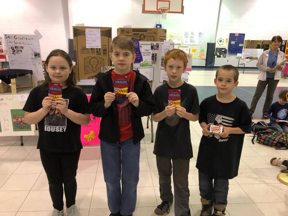 Kids Choice Award winners for Stem Night Projects 2019