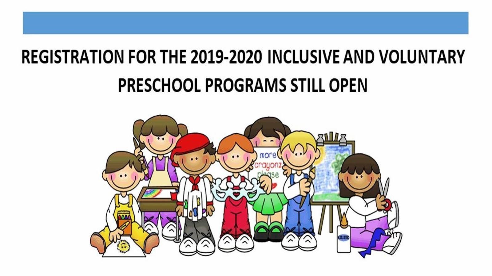 PreK Programs