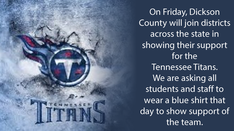 Tennessee Titans Support