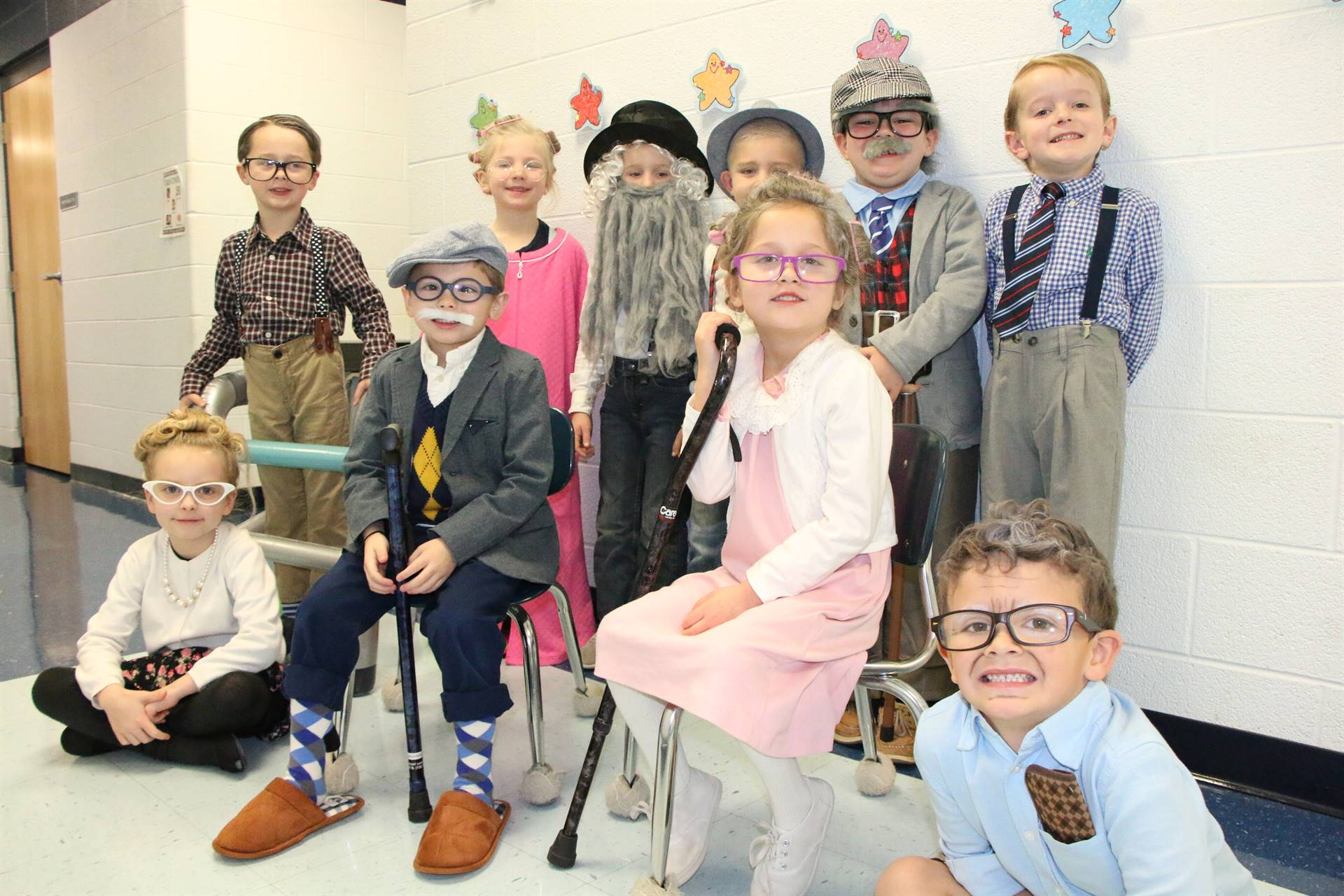K 100th Day of School Feb. 2020