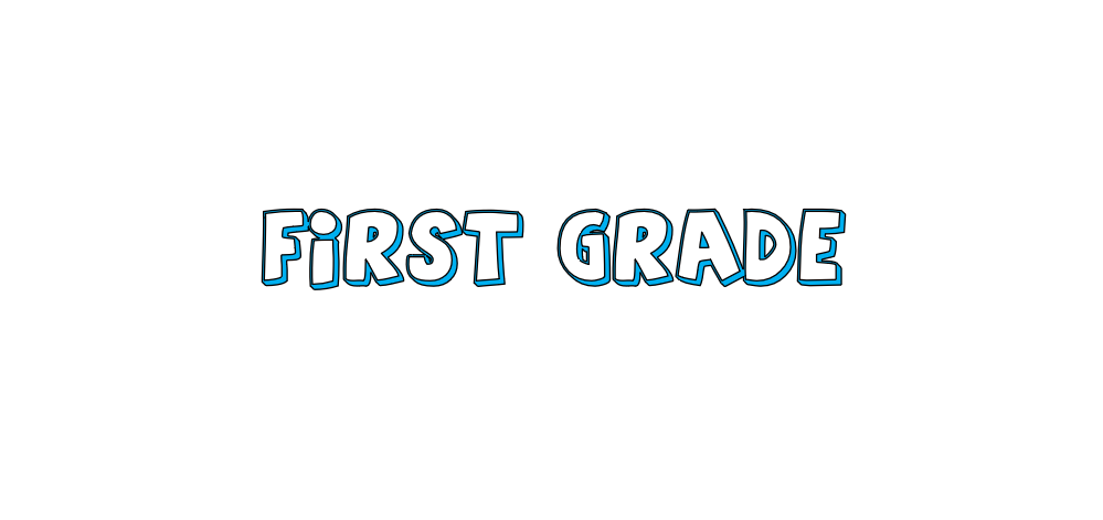 First Grade Online Learning