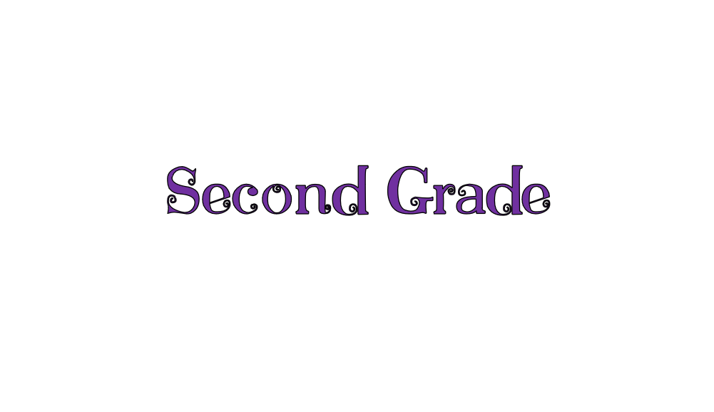 Second Grade Online Learning