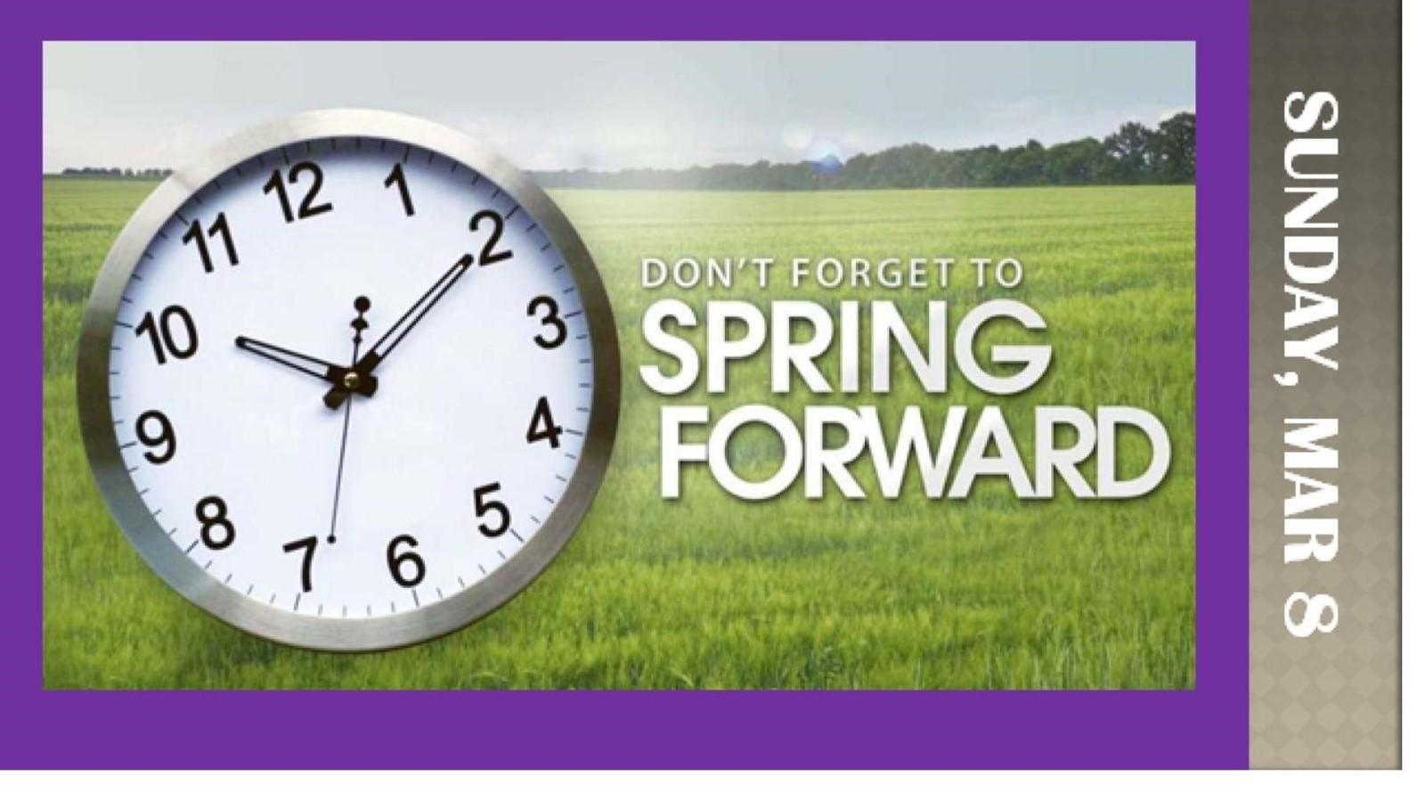 spring foward