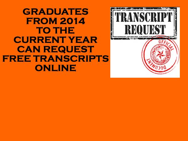 Click Here to Request Transcript