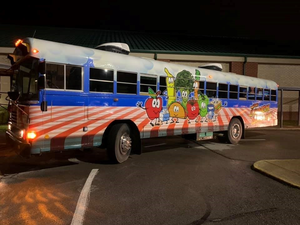 Dickson County's mobile lunch bus