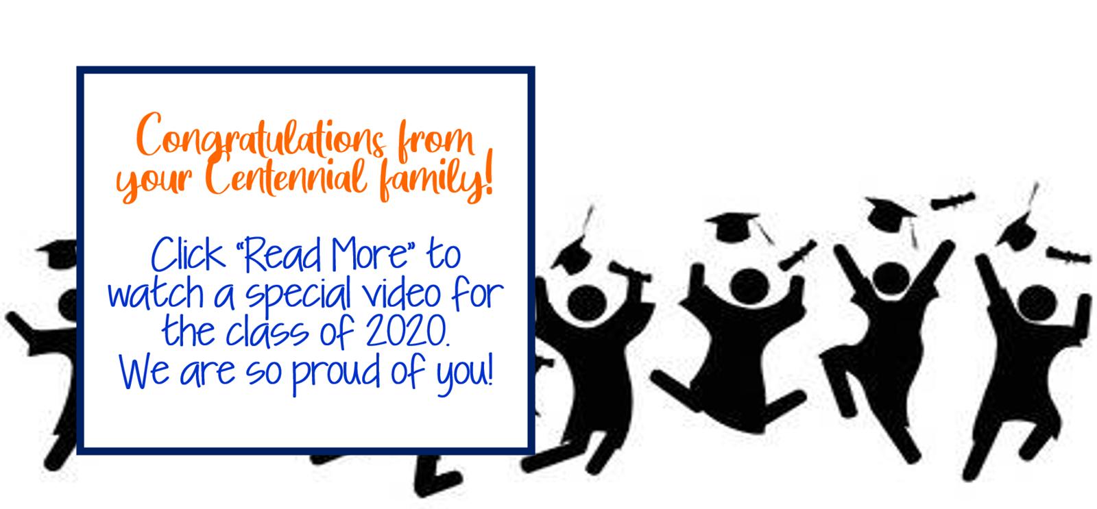 Congrats c/o 2020!