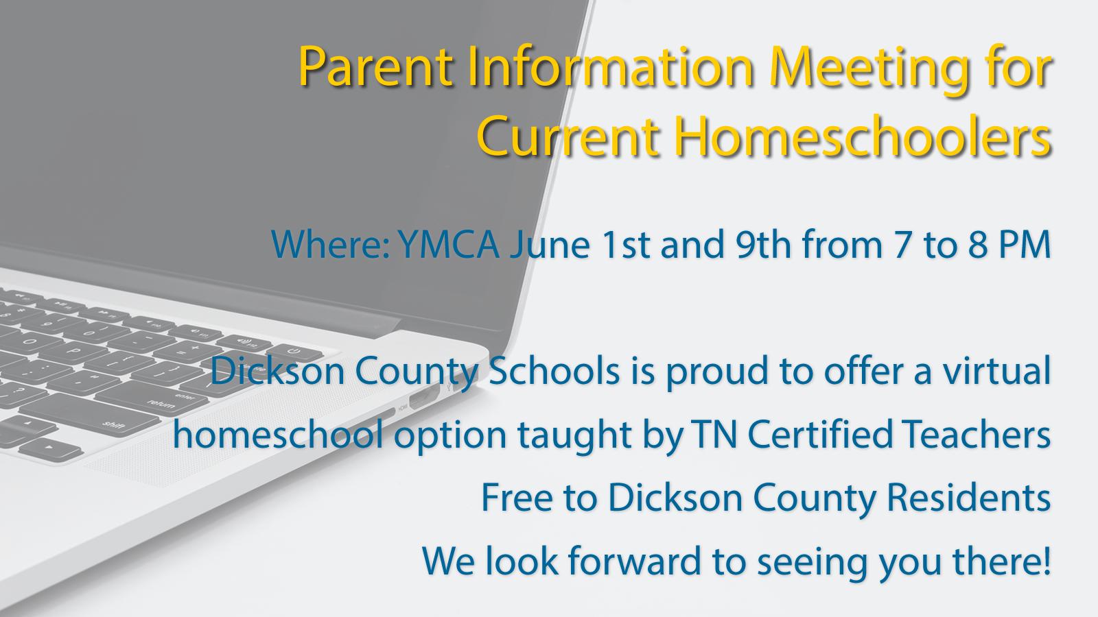 Homeschooler Parent Meeting