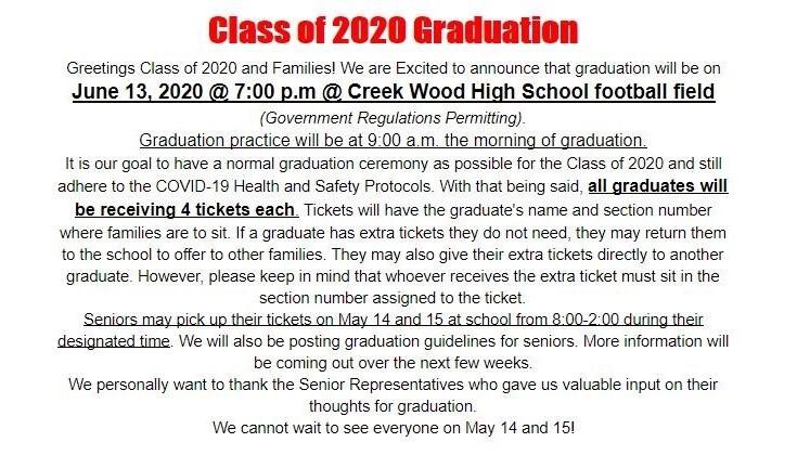 Graduation June 13