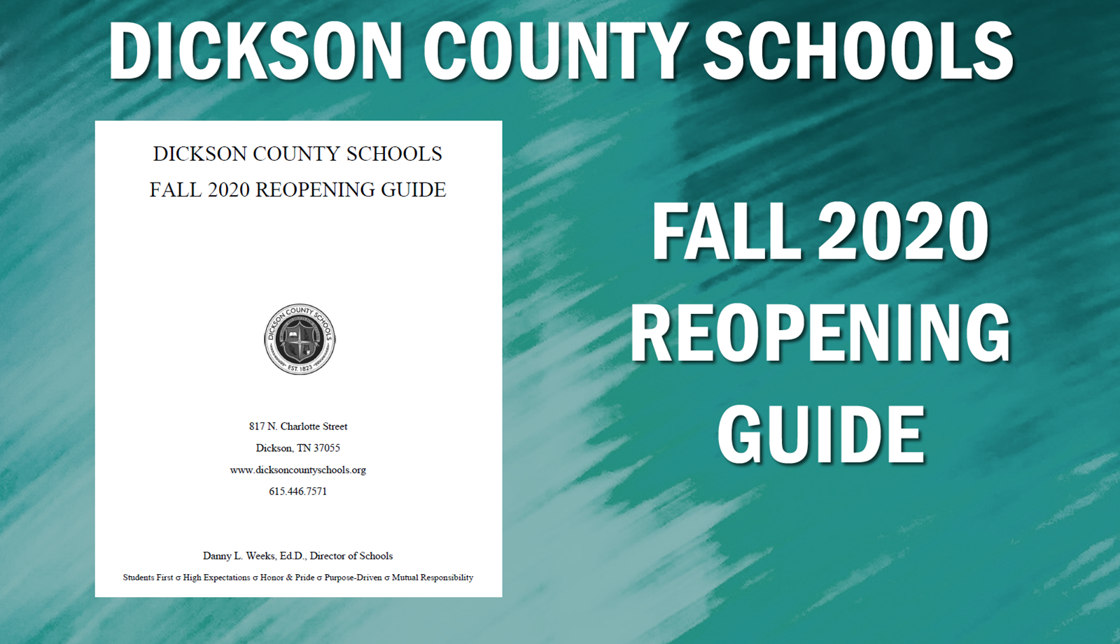 Fall 2020 Reopening Guide