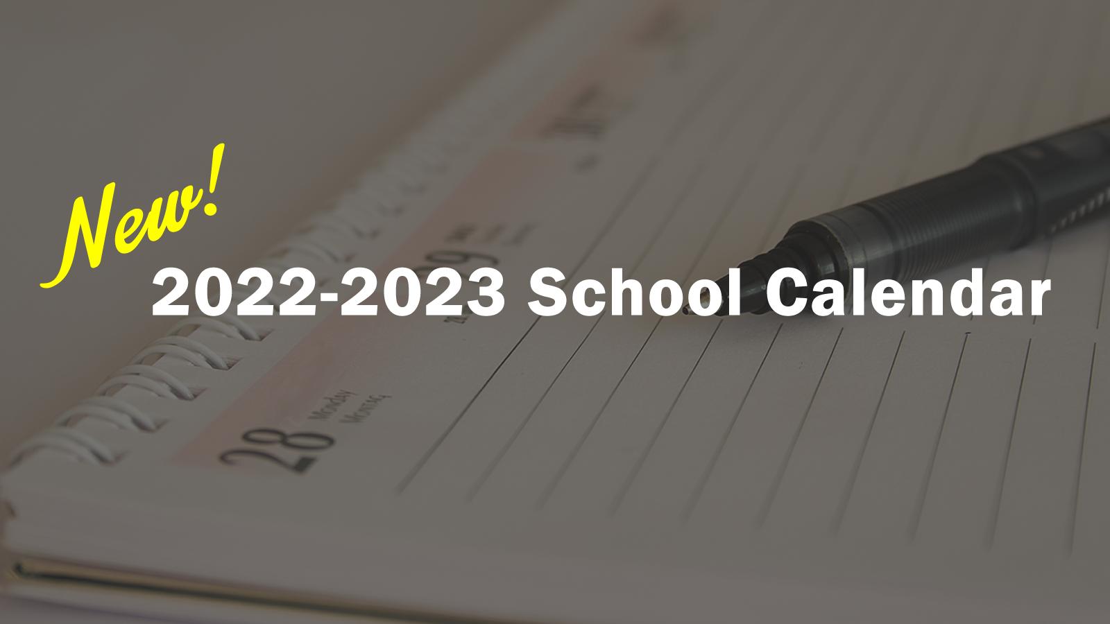 2022-23 Calendar
