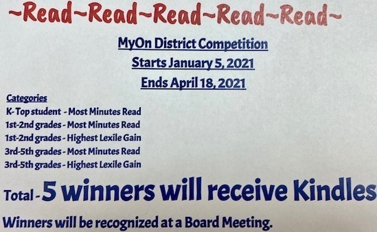 MyOn Competition