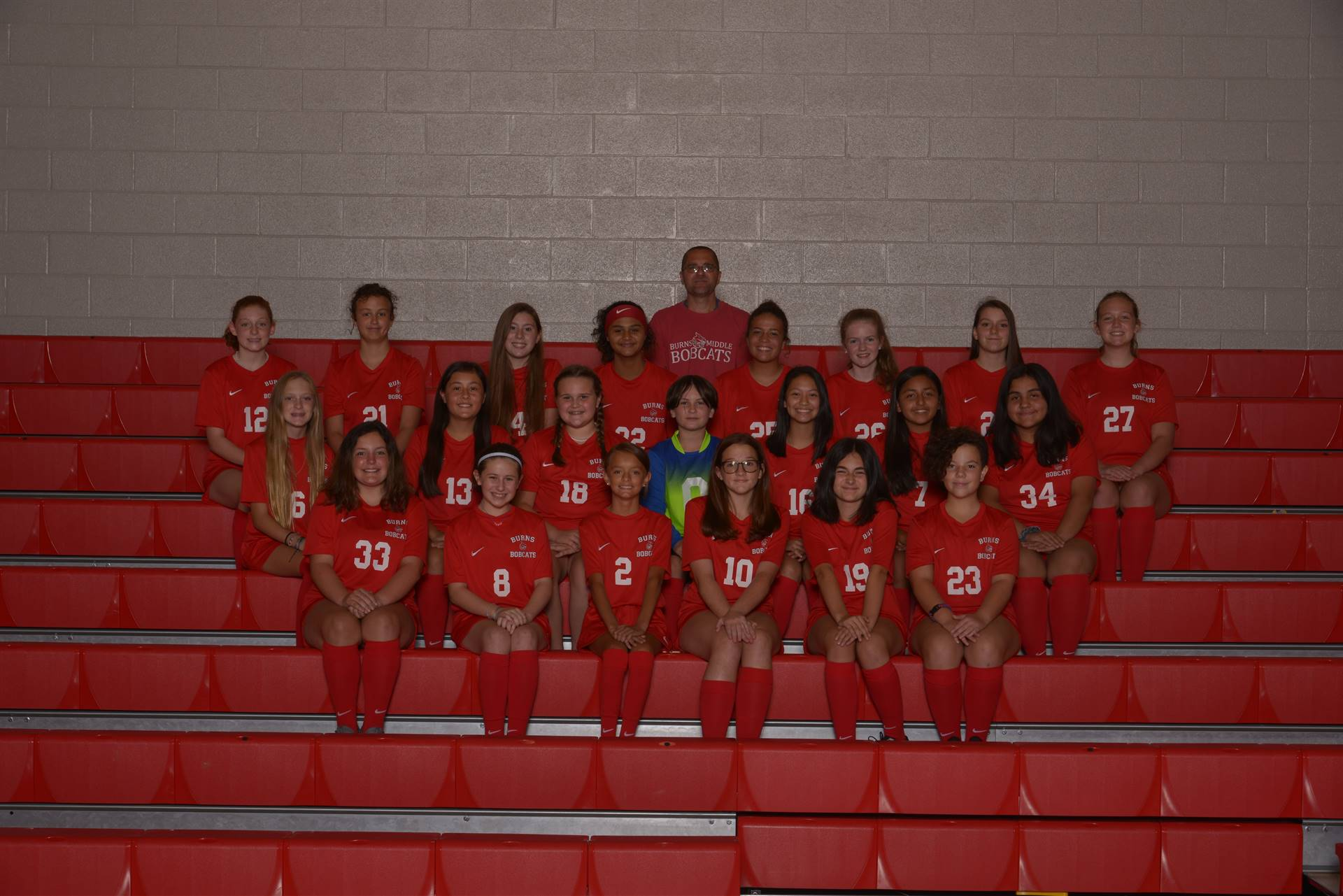 20-21 Lady Bobcat Soccer Players