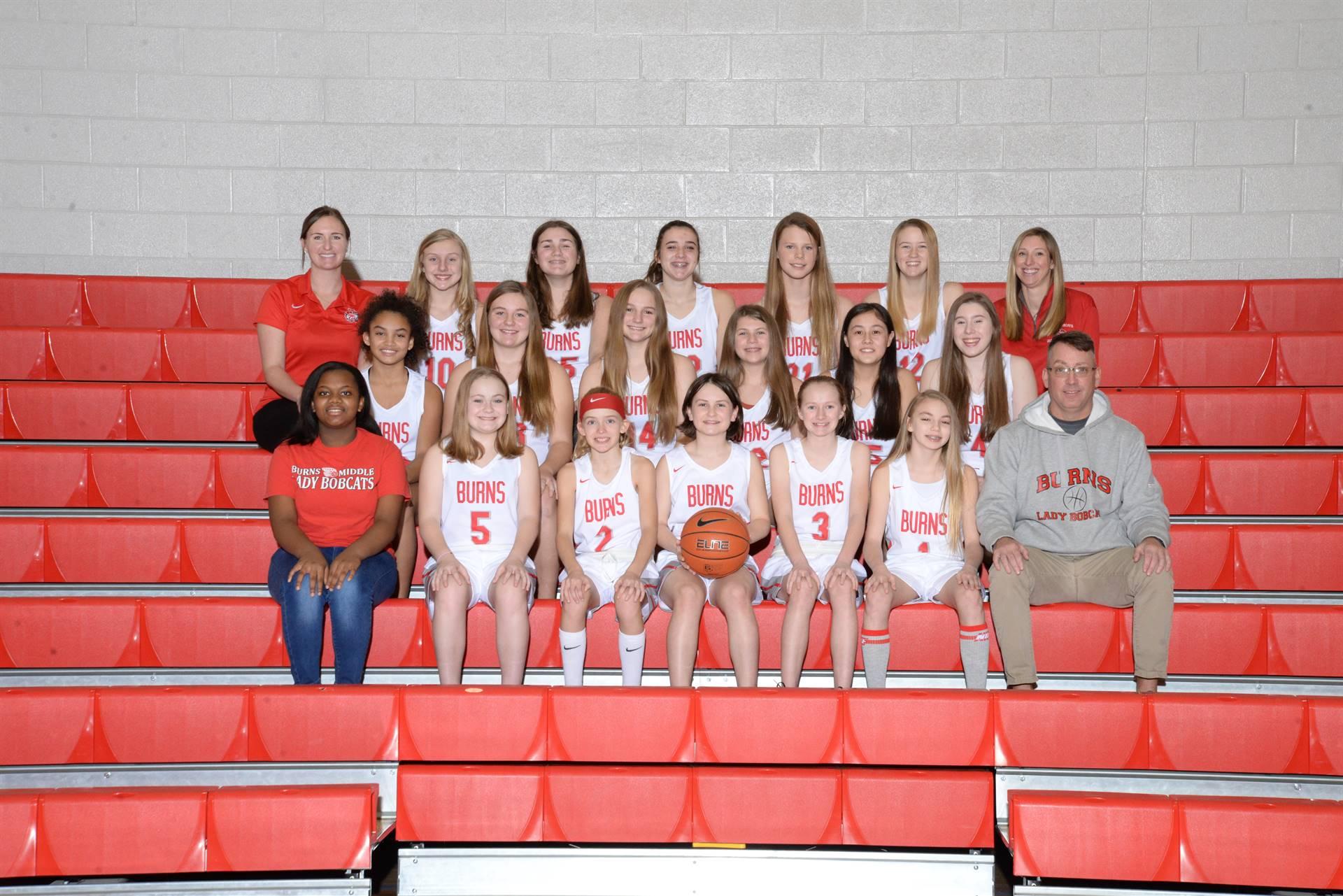 20-21 Lady Bobcats Basketball Team