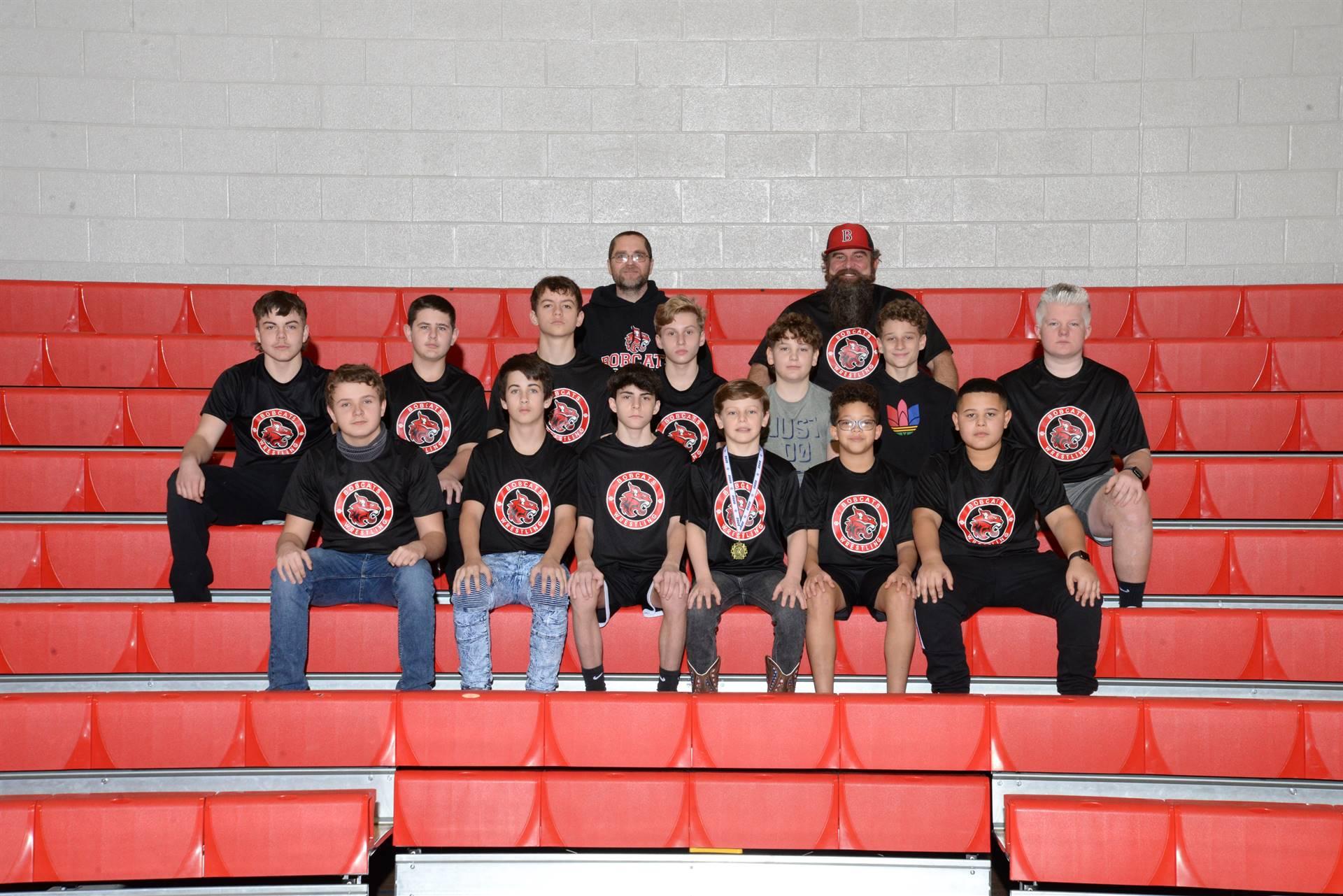 20-21 BMS Bobcats Wrestling Team