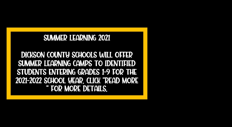 Summer Learning 2021