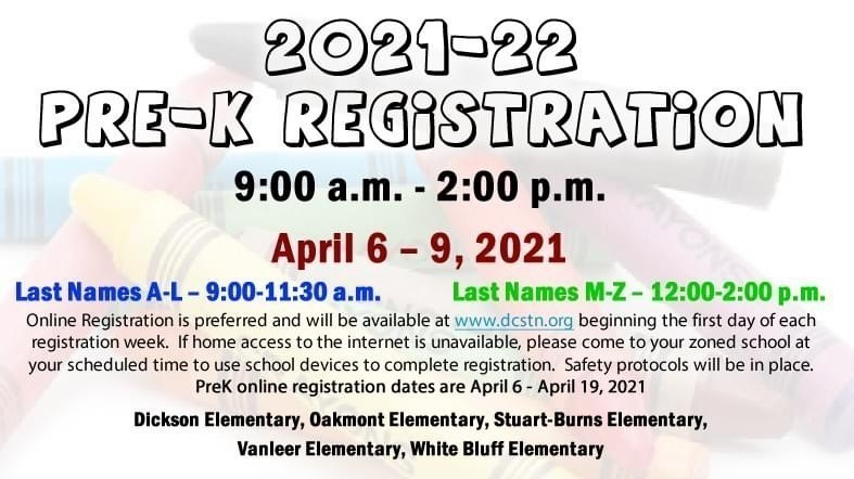Prek registration