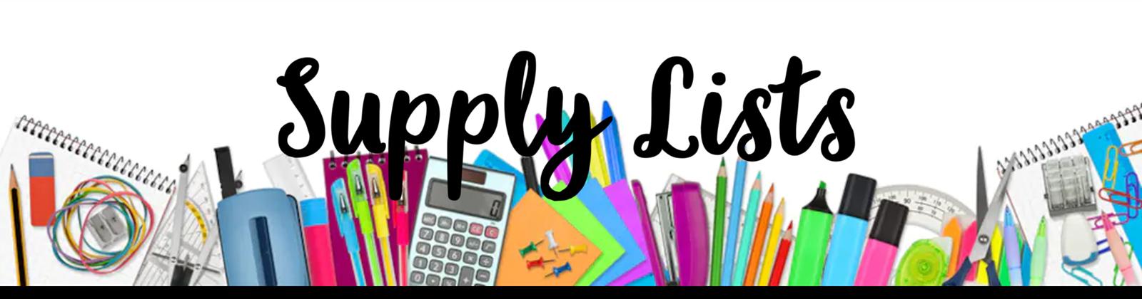 2021 supply list