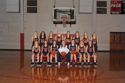 Lady Red Hawk Basketball
