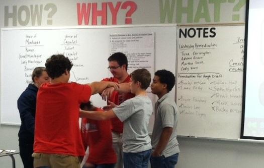 Washing Machine - Team building exercise in Mrs. Daniels Seminar